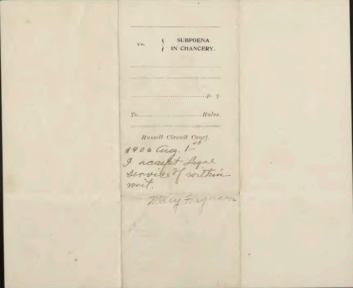 Virginia Chancery Court Records