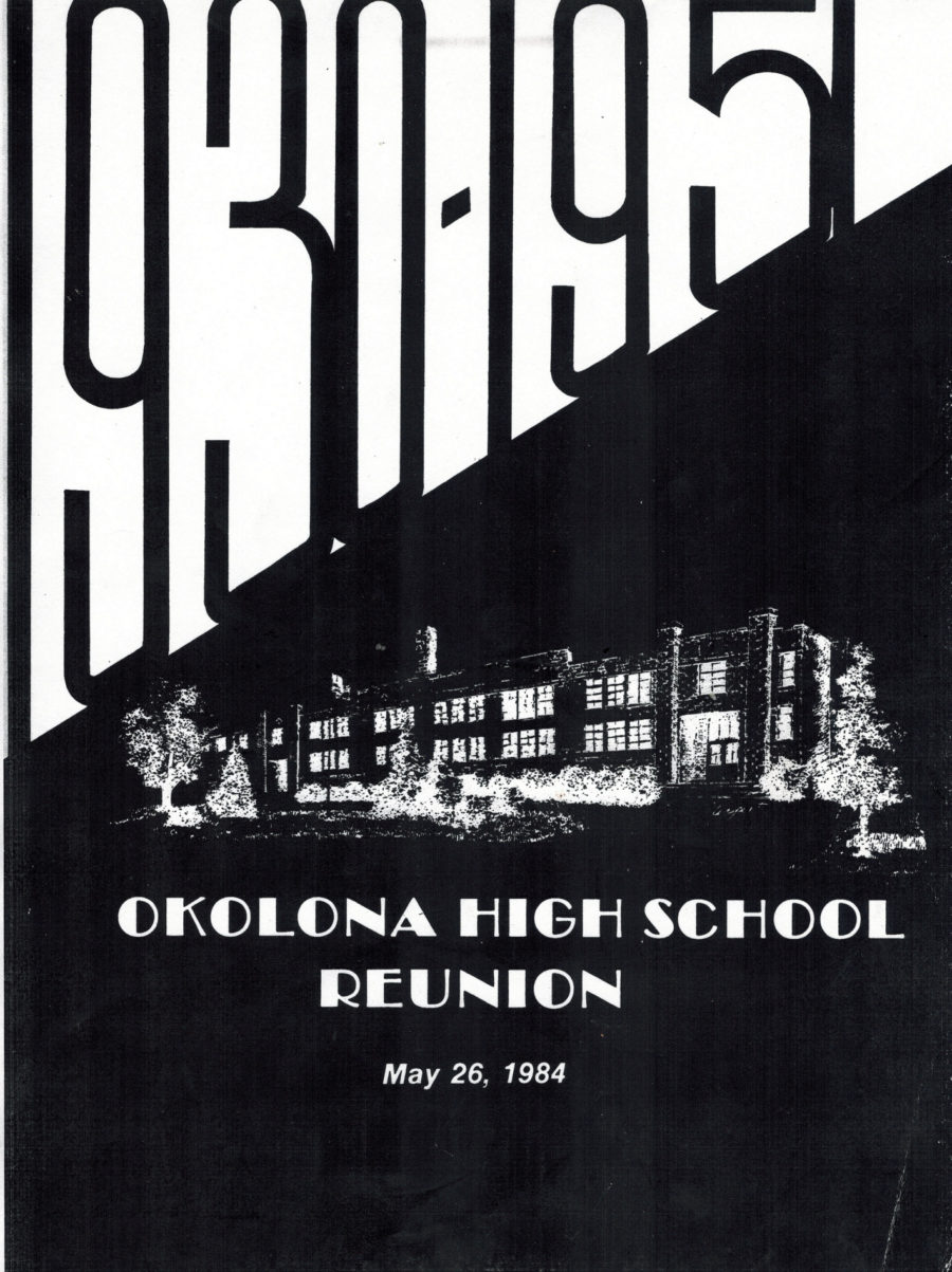 Reunion Yearbook for Okolona High School