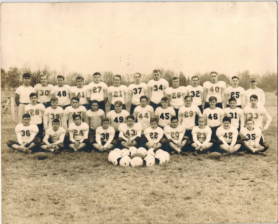 Okolona High School Football Team  1940s Photograph